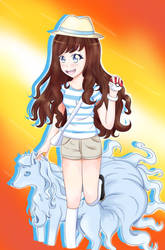 Trainer Sammi has Challenged You! by Ann10158