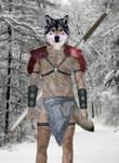 Werewolf warrior by Awsassin