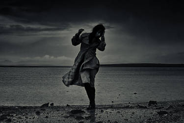 Dancing In The Rain by Olga-Zervou
