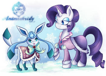 Dressed for the Cold by Animechristy