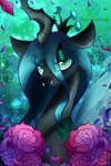 Queen Chrysalis by Animechristy