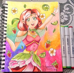 Strawberry Limeade Magical Girl by Animechristy