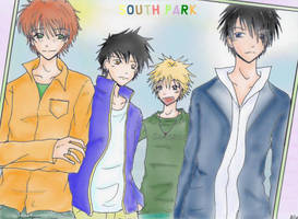 South Park_cool Guys by AsukaHatake
