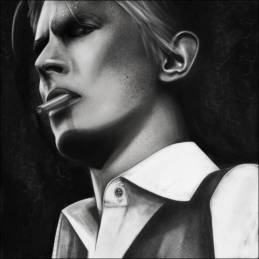 David Bowie Tribute by JLarenART