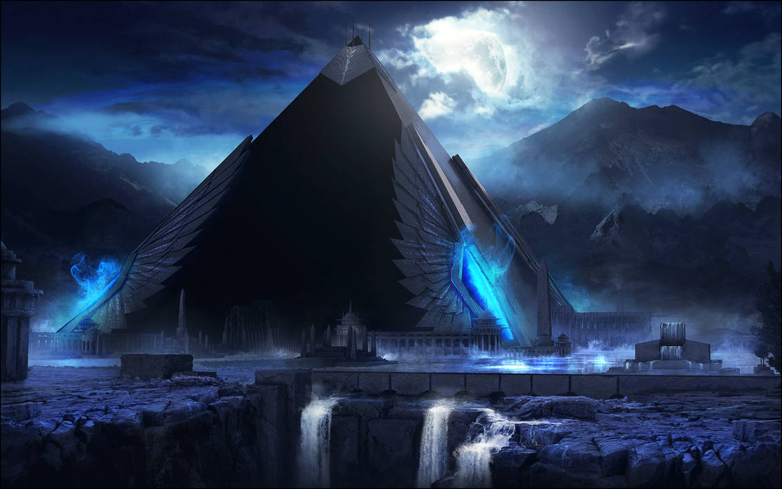 ARCHON: Temple of the Immortal Queen by JLarenART