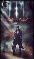 ARCHON: Archangel Vael - Forged In Dread by JLarenART