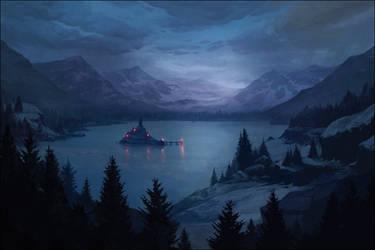 ARCHON: Samsara's Diamond Isle by JLarenART
