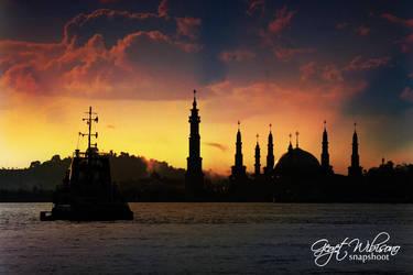 Islamic Center Samarinda by gegetlonely