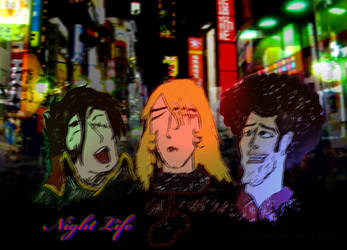 Harlock Nabeshin Night Life by Mizukami999