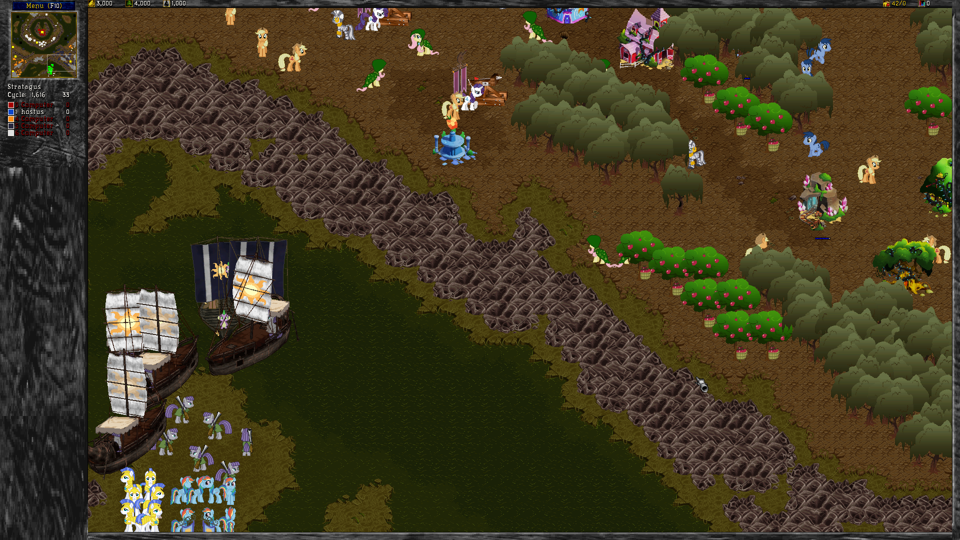 My Little Pony: Warcraft 2 Mod by Mizukami999