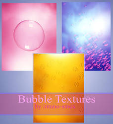 BUBBLE TEXTURES by intano-stock