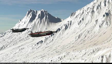 Snow Mountain 2 by Barwickian