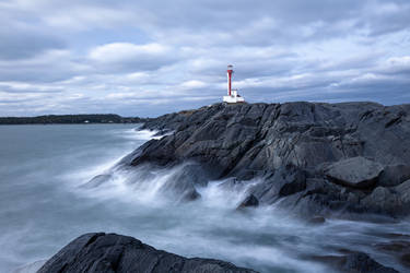Cape Forchu Lighthouse by JamesHackland