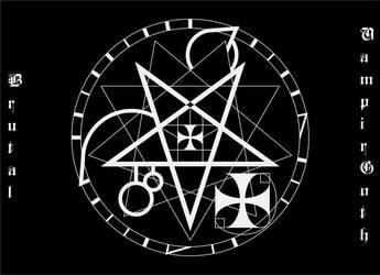 Brutal sigil by VampirGoth