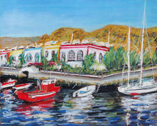 Puerto de Mogan by davepuls