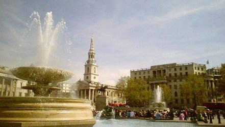trafalgar square by bulletadz