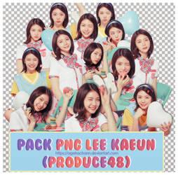 PACK PNG Lee Kaeun (Produce 48) by agehachann