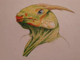 Dragon Portrait by moryonenn