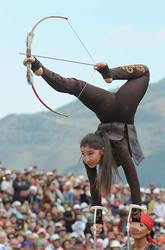Archery Practise by NualaTawse