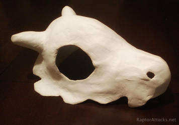 Cubone skull helmet by RaptorAttacks