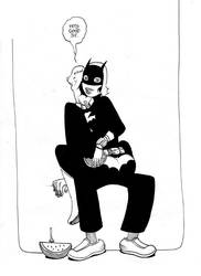 Batgirl by royalboiler