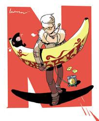 banana dayday by royalboiler