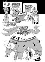 raw iron ore wolf by royalboiler