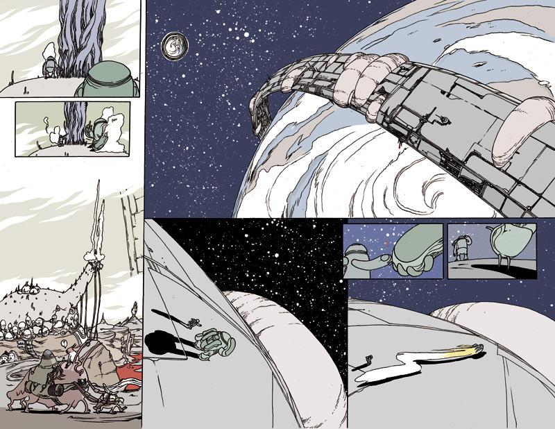Prophet in space by royalboiler