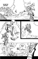 ghost rider bmx by royalboiler