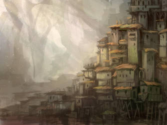 210 - Swamp Town by SnowSkadi