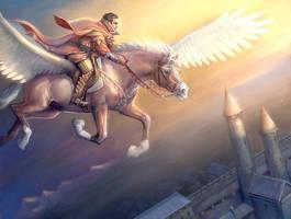 Pegasus_ by SnowSkadi