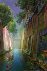 Canal by SnowSkadi