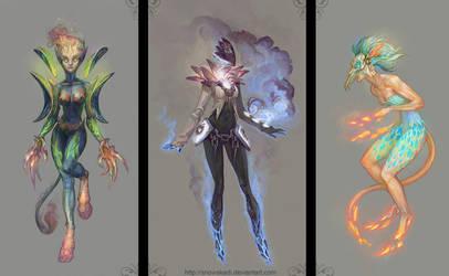 Concepts: Demons by SnowSkadi