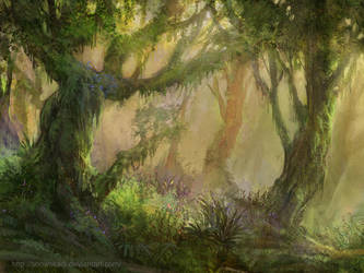 Forest 1 by SnowSkadi