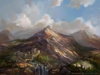 Landscape 7 by SnowSkadi