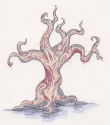 Day 95 Flesh Tree by i---D---i