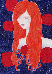 Roses of sadness by xXDarkSanctuaryXx