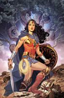 Wonder Woman #16 - Cover by BilquisEvely