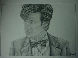 11th Doctor by MarieTaylor