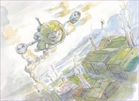 Rocket-man by NORIMATSUKeiichi