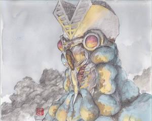Alien-Baltan-colored by NORIMATSUKeiichi