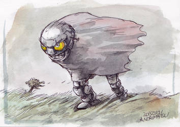 Lonesome-Bot by NORIMATSUKeiichi