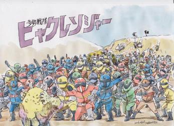 100rangers by NORIMATSUKeiichi