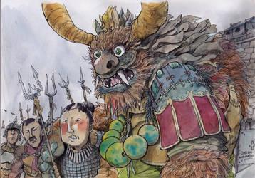 Bull-Shogun by NORIMATSUKeiichi