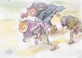 Japanese-Ogres by NORIMATSUKeiichi