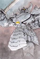 Big-machine-sergeant by NORIMATSUKeiichi