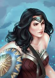 Wonder Woman fan art by YuKo27