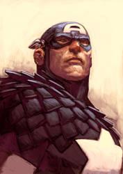Captain America by Curryz
