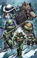 TMNT Litho by Wesflo