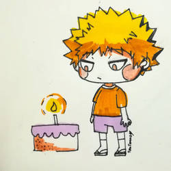 Happy Birthday Katsuki Kacchan Bakugo by TenTennz